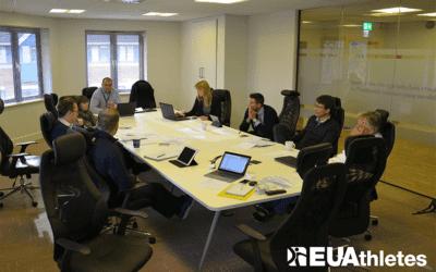 EU Athletes Board meeting in Dublin
