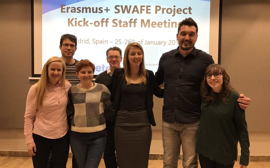 Erasmus+ SWAFE project Kick-off Staff Meeting