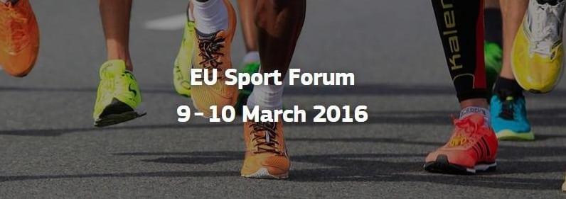EU Sport Forum 2016