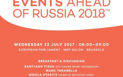 """""""Human Rights and Mega Sport Events"""" Working Breakfast at the European Parliament"""