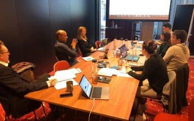 EU Athletes Executive Board meeting