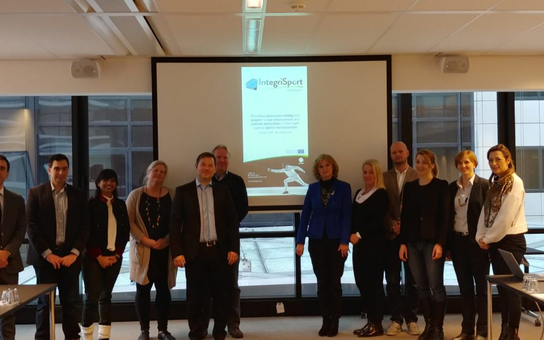 Official launch of Integrisport ERASMUS+ Project on tackling match-fixing