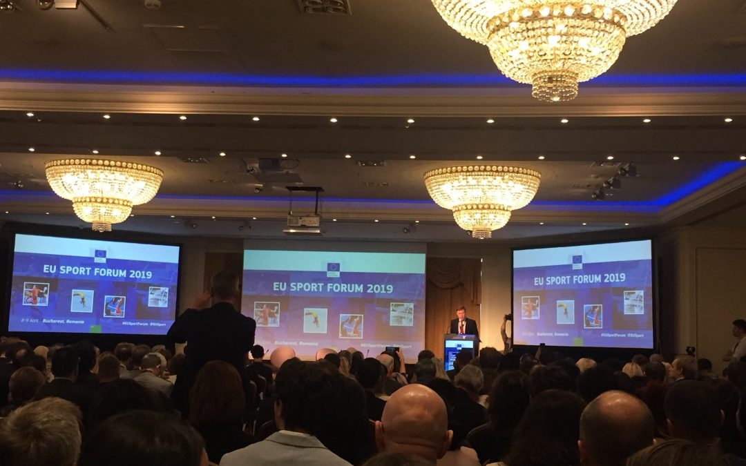 EU Athletes took part in the 2019 EU Sport Forum
