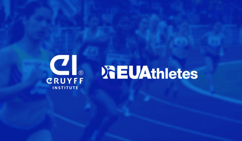 EU Athletes concludes a cooperation agreement with Johan Cruyff Institute