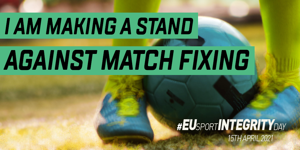 #EUSportIntegrityDay to demonstrate our commitment to fight against match fixing