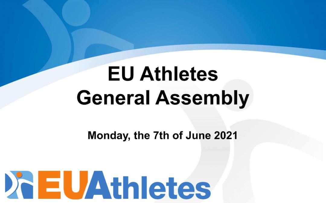 EU Athletes General Assembly 2021